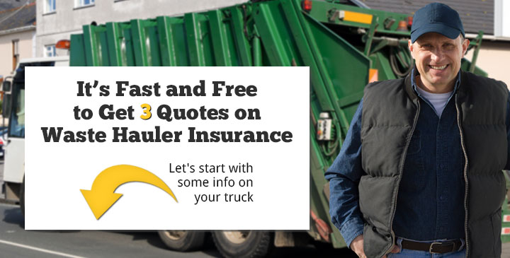 Cheap Garbage Truck Insurance Quotes Online