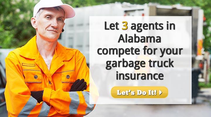 Alabama Garbage Truck Insurance Quotes