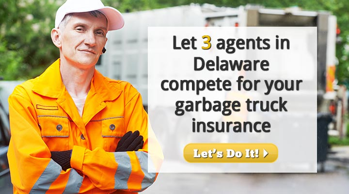 Delaware Garbage Truck Insurance Quotes