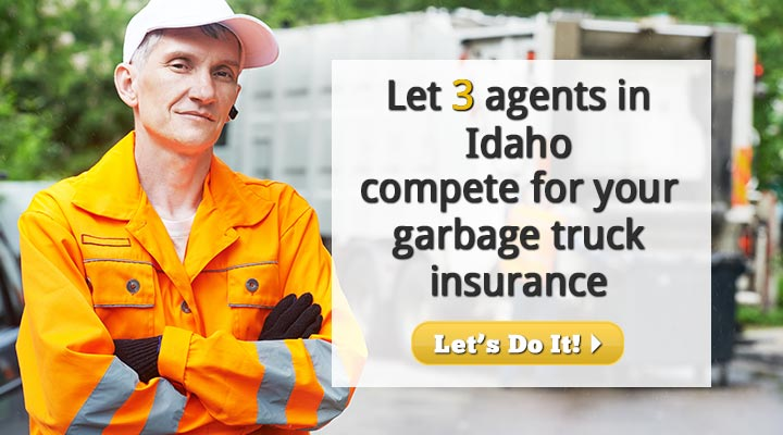 Idaho Garbage Truck Insurance Quotes