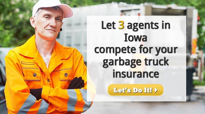 Iowa Garbage Truck Insurance Quotes