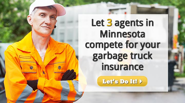 Minnesota Garbage Truck Insurance Quotes