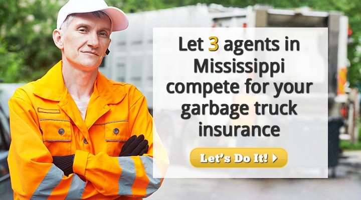 Mississippi Garbage Truck Insurance Quotes