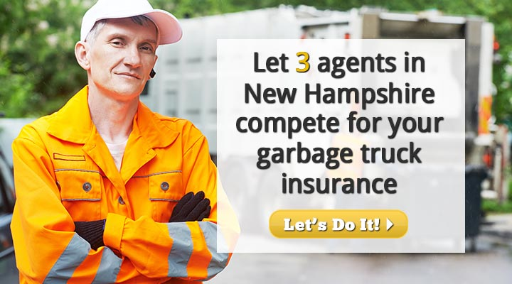 New Hampshire Garbage Truck Insurance Quotes