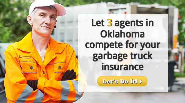 Oklahoma Garbage Truck Insurance Quotes