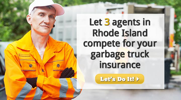 Rhode Island Garbage Truck Insurance Quotes