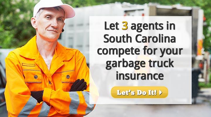 South Carolina Garbage Truck Insurance Quotes
