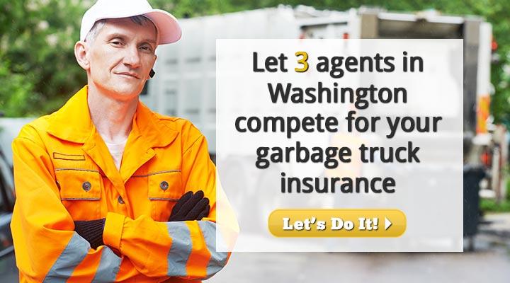 Washington Garbage Truck Insurance Quotes